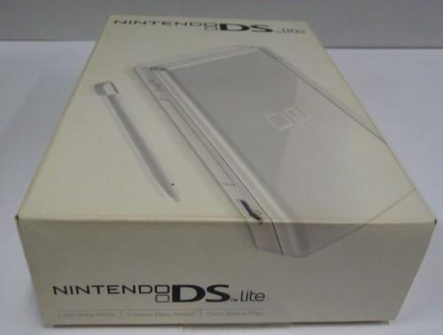 nintendo DS lite (bianco)