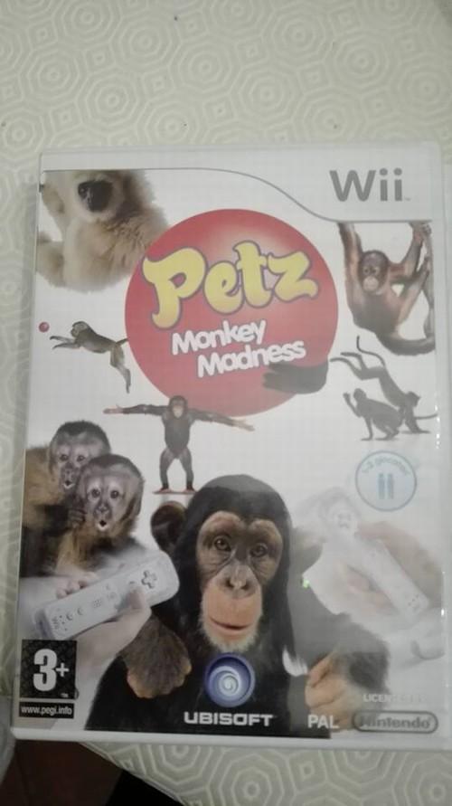 Nintendo Wii Pets Monckey Madness